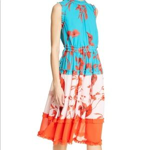Ted Baker Camelis Fantasia Tiered Midi Dress